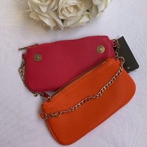 FEATHERS   Double purse